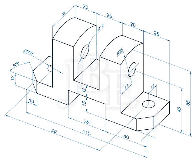 Autocad 2d exercise drawings file type pdf