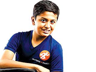 13 sal ka bachha jo hai karodo ki company ka malik | 13 साल का बच्चा जो  है करोडो की कम्पनी का मालिक ।
