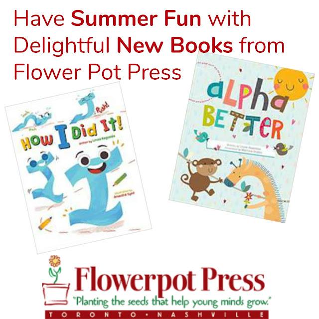 unplug and play, summer ideas for kids, tech free summer fun, flowerpot press book review, new childrens books, stop summer brain drain