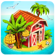 Download Farm Paradise Hay Island Bay Mod Apk Terbaru