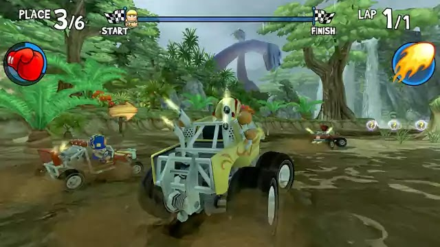 تحميل وتنزيل لعبة Beach Buggy Racing لانظمة الاندرويد
