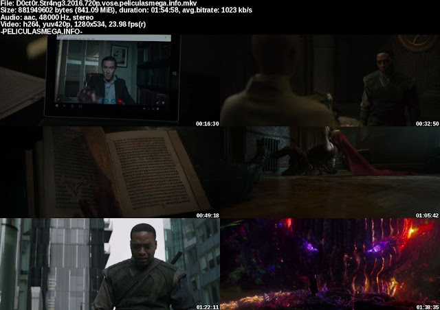 Descargar Doctor Strange Subtitulado por MEGA.