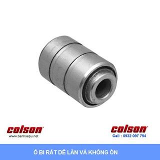 Bánh xe chống tĩnh điện Colson càng cố định phi 100 | 2-4608-445C sử dụng ổ bi banhxedaycolson.com
