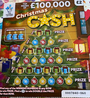 £2 Christmas Cash Scratchcard