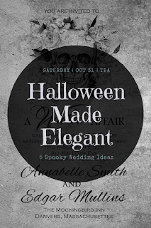 Halloween Wedding Made Elegant-wedding theme-wedding party-Weddings by KMich Philadelphia PA