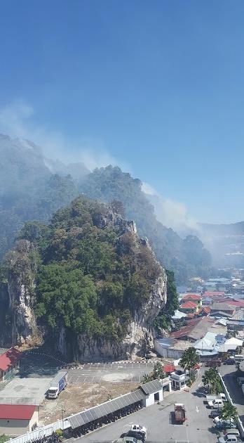 Berita Bukit Batu Caves Terbakar