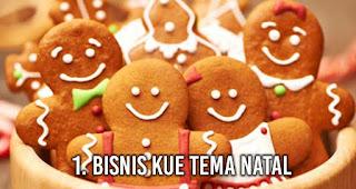 Bisnis Kue Tema Natal adalah salah satu bisnis yang menguntungkan saat moment Natal