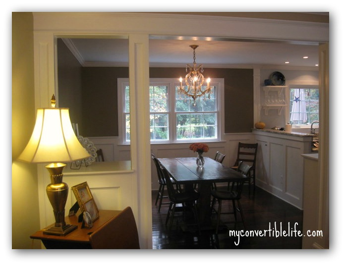 my convertible life friday 39 s 5 dining room remodel. Black Bedroom Furniture Sets. Home Design Ideas