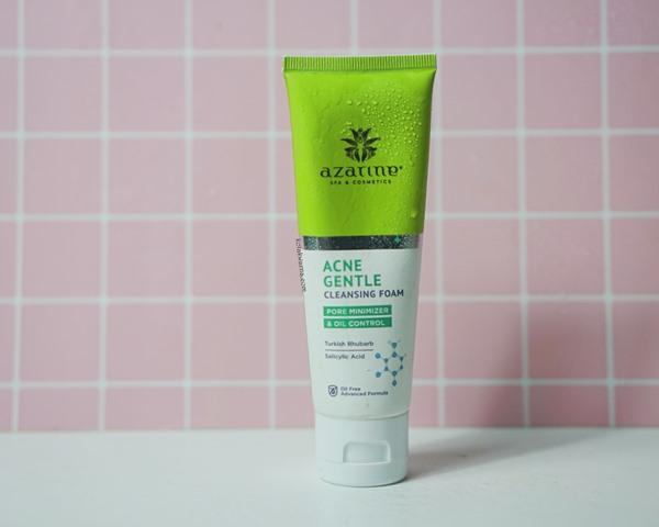azarine acne gentle cleansing foam, acne cleansing foam, azarine skincare