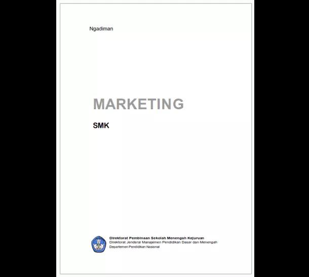 Buku Smk Bisnis Manajemen Marketing Berkas Edukasi