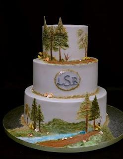 gambar kue pernikahan