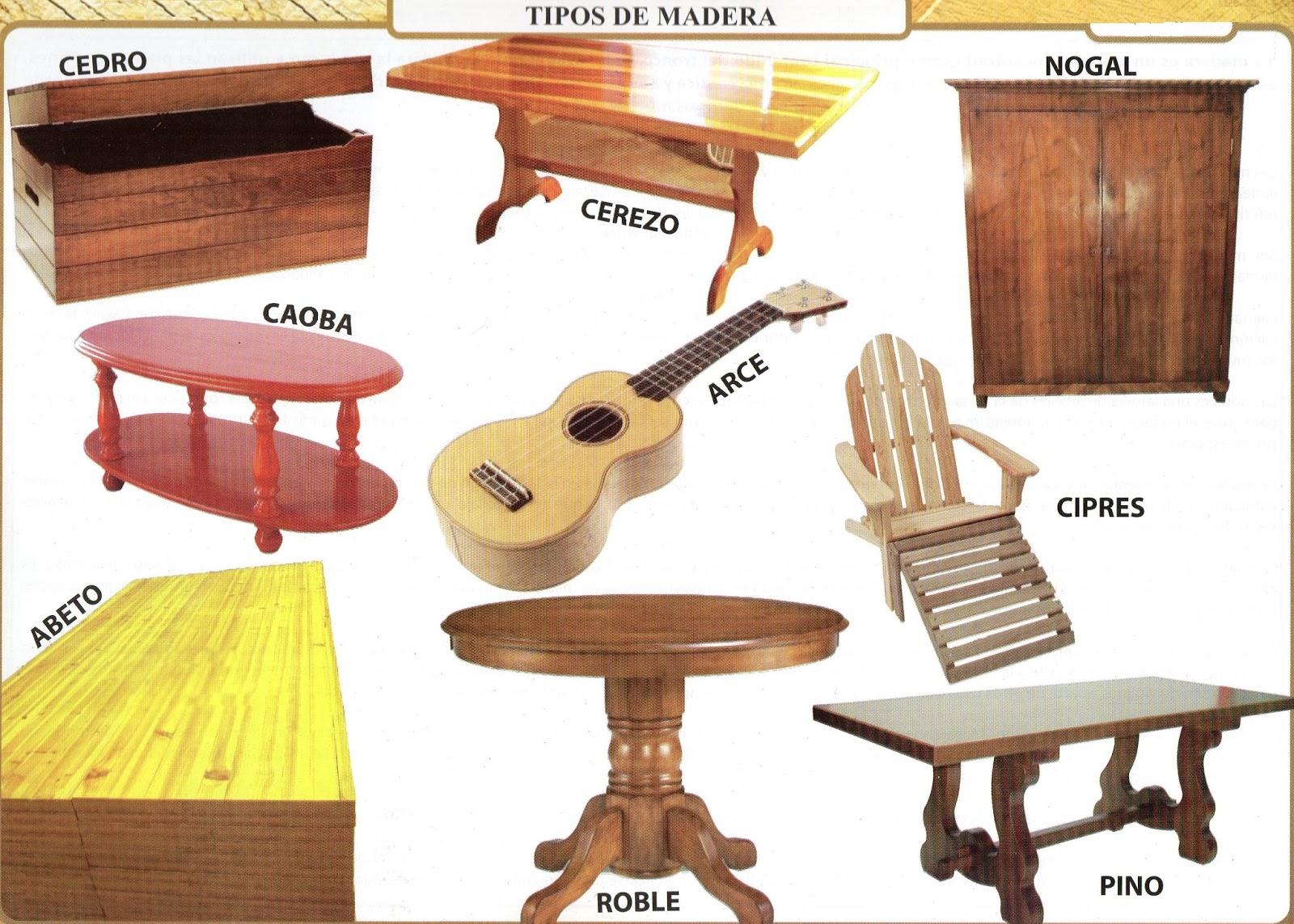 Hondu Tareas Las Tareas De Honduras Tipos De Madera Y Su Utilidad # Foda Muebles De Madera