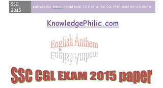 SSC CGL 2015 English paper in PDF with Complete solution- day 3