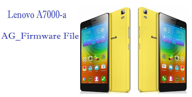 Lenovo A7000-a S153 CM2 Read Stock Rom Firmware Flash File