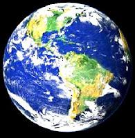 Imagen del Planeta Tierra visualizando América del Norte. América del Centro y América del Sur