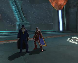 Doctor Moongem meets Doctor Fate