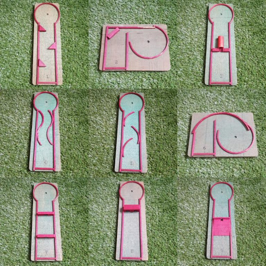 Putt-In-Play by Gibbs Toys of Canton, Ohio, USA