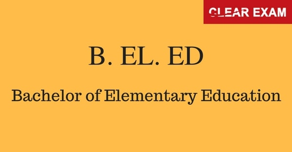 B.El.Ed Entrance Exam Coaching