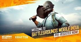 Battleground Mobile India pre registration link - Download Link + APK