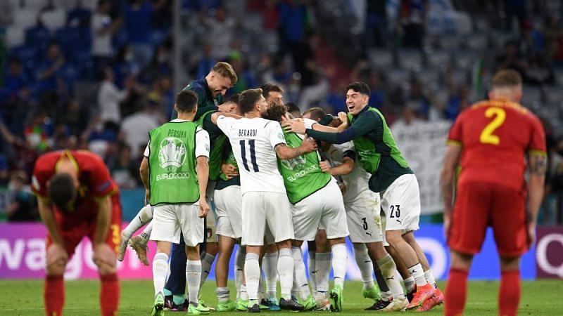 بلجيكا 1-2 إيطاليا