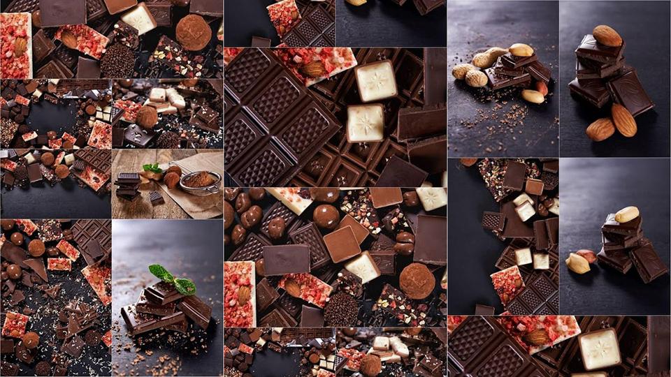تحميل مجموعة من صور الشيكولاته عالية الجودة للتصميم