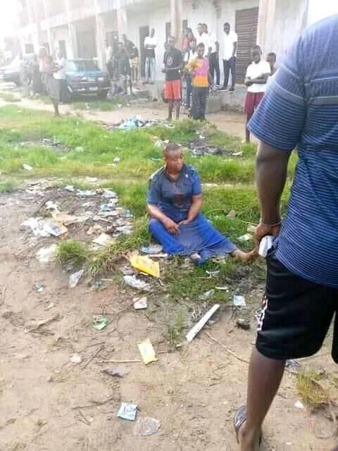 UPDATE: Photo Of The 'Mentally Challenged' Woman Who Stabbed 14-year-old Boy To Death In Bayelsa Reveals
