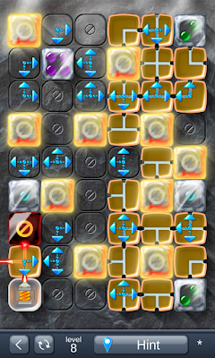 Solution for Laser Box - Puzzle (Final) Level 8