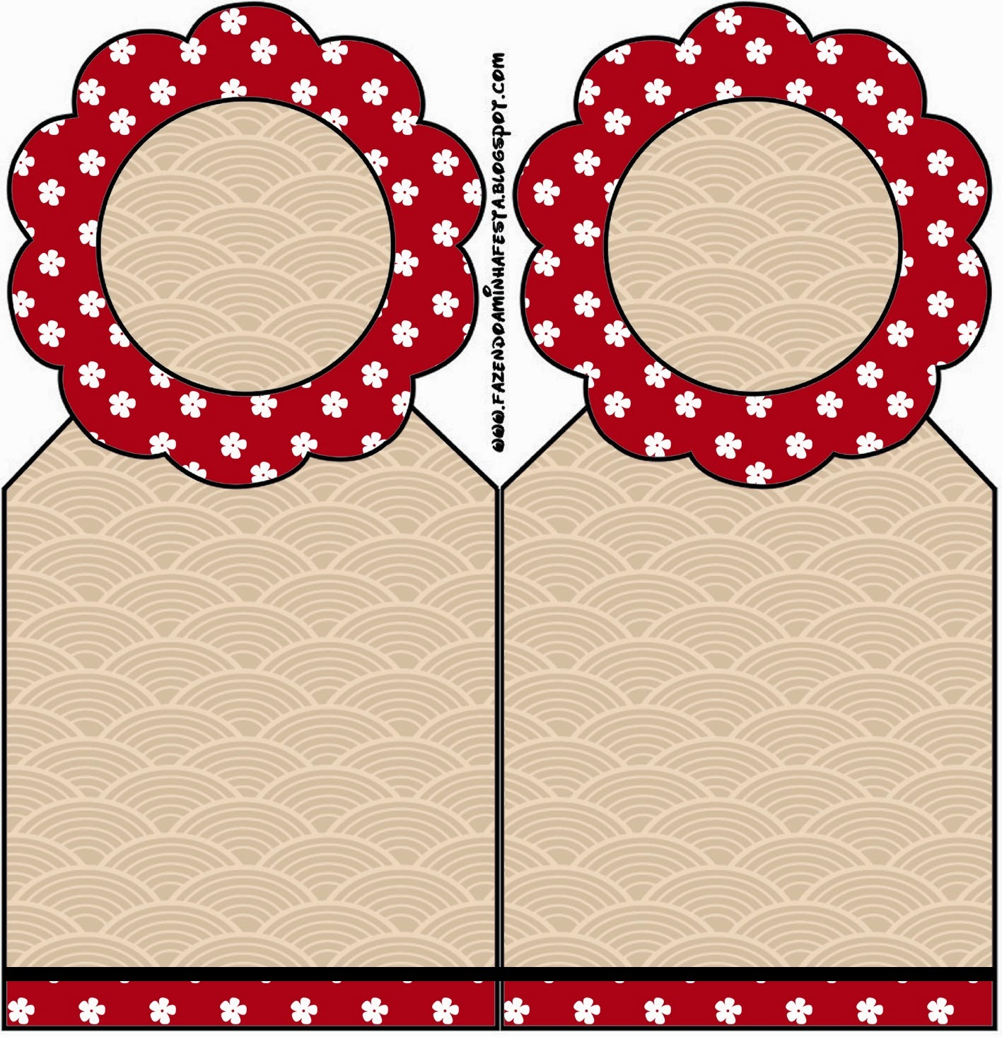 Japanese Style Party Free Party Printables