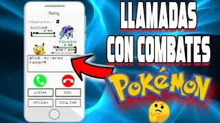 Convierte tus llamadas en combates pokemon