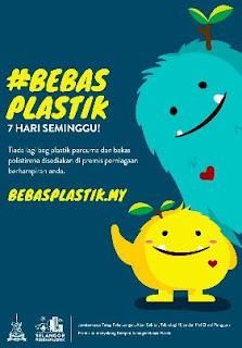 plastik, bebas plastik, selangor