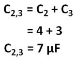 Rangkaian Seri Paralel Kapasitor; Terdapat tiga macam jenis sambungan/rangkaian kapasitor yaitu Rangkaian Seri, Rangkaian Paralel, dan Rangkaian Campuran (Seri-Paralel)