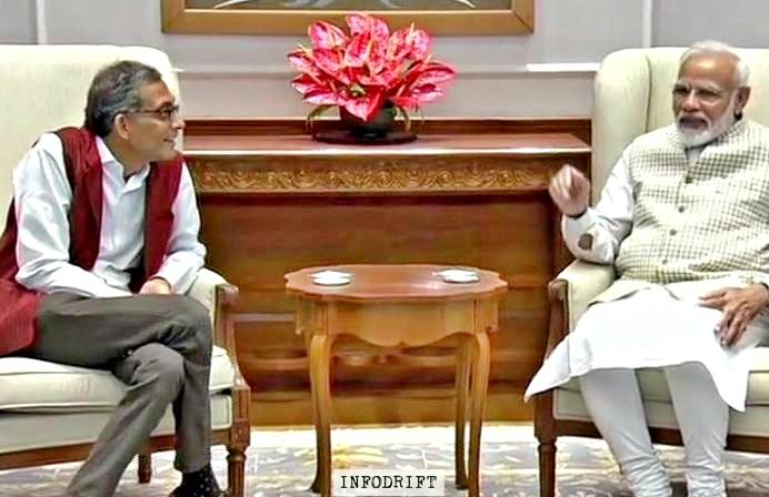 Abhijit Banerjee & PM Modi
