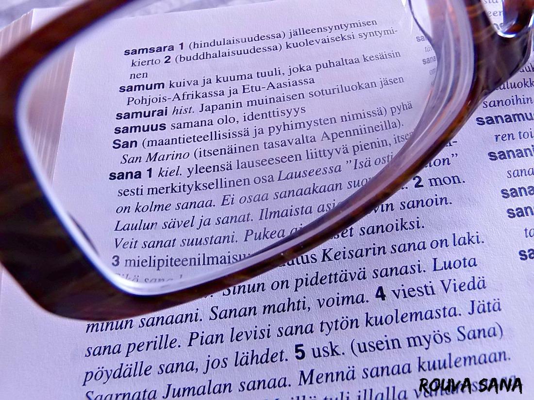 Rouva Sana/sanat ja kirjoittaminen