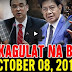 Nakakagulat Na Balita Ngayon October 08, 2017 - Ping Lacson | Cayetano | De Lima | Pres. Duterte