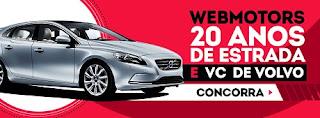 Participar promoção Webmotors 20 anos de estrada