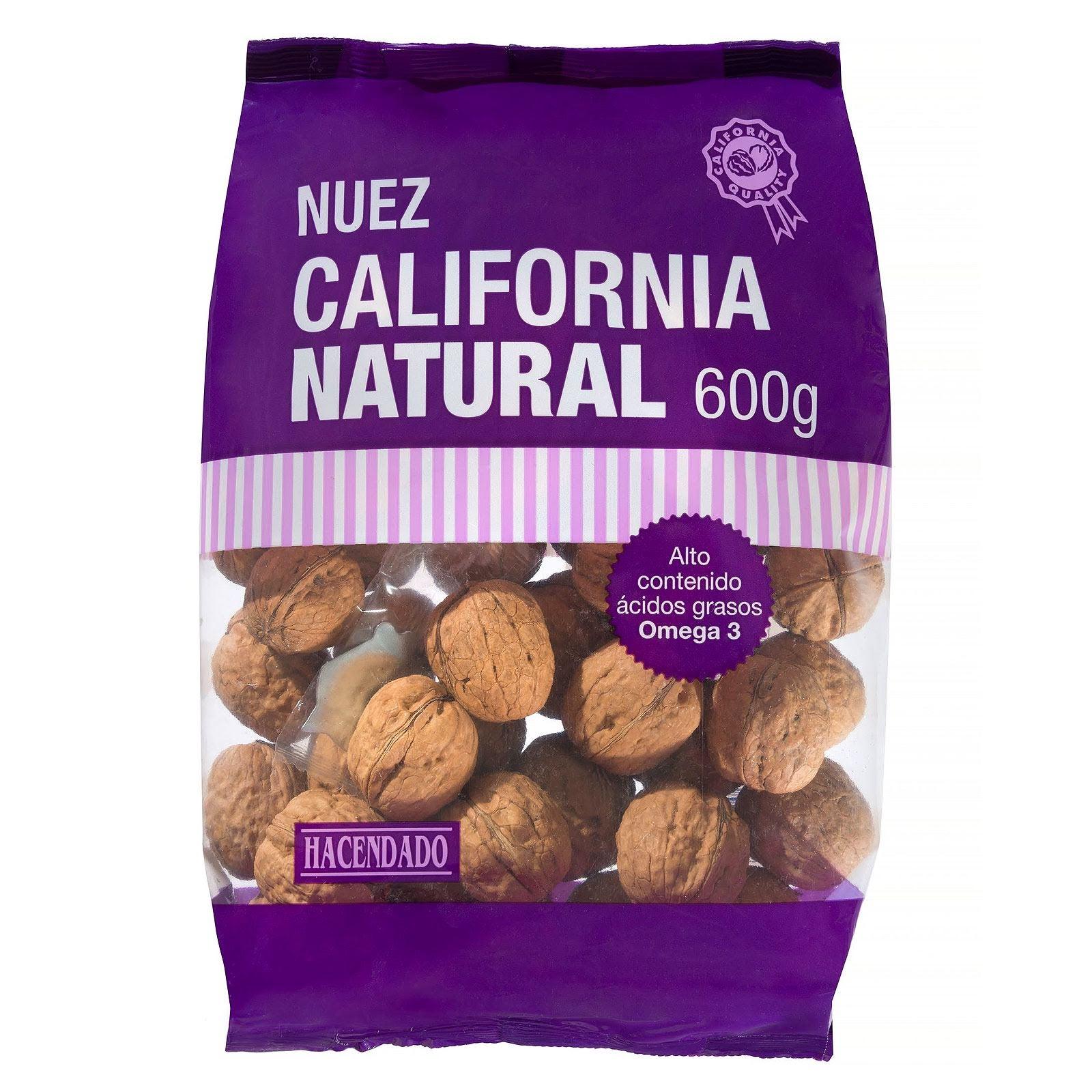 Nuez de California natural con cáscara Hacendado