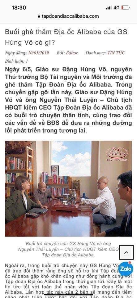 Cuối cùng cũng tìm ra người chống lưng cho Alibaba 3