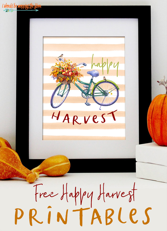 Happy Harvest Printables