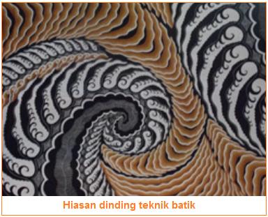 Fungsi kerajinan tekstil sebagai penghias - hiasan dinding