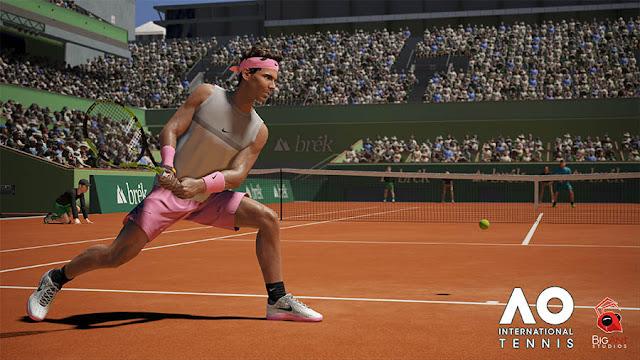 Se anuncia espectacular juego de tenis: AO International Tennis