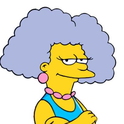 Los Simpson Personaje Selma Bouvier