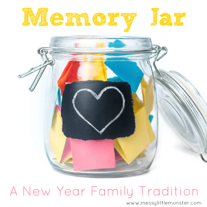 celebrate new years eve with kids and make a memory jar