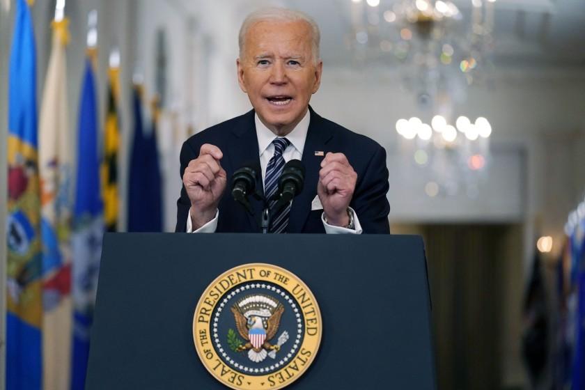 #COVID: Biden: todos los adultos de EE.UU. serán elegibles para la vacuna antes del 1 de mayo