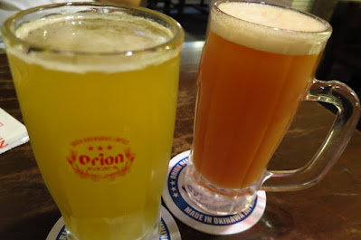 Nirai Kanai, calamansi grapefruit beer