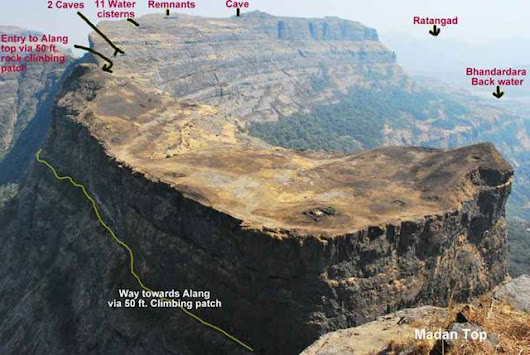 VRangers Trek to Alang-Madan Fort on 15th Ngt-16th -17th Dec 2017