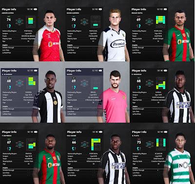 PES 2021 Liga NOS Facepack 3
