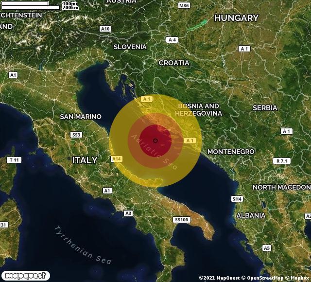 Due Scosse di terremoto nell'Adriatico, avvertite anche a Foggia e provincia