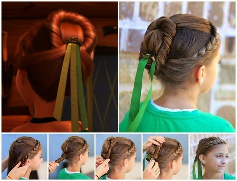 Imagenes Fantasia Y Color 4 Peinados Inspirados En Las Princesas