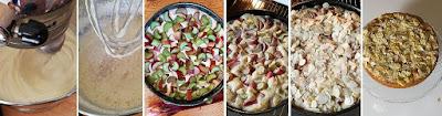 Zubereitung Rhabarber-Buttermilchkuchen