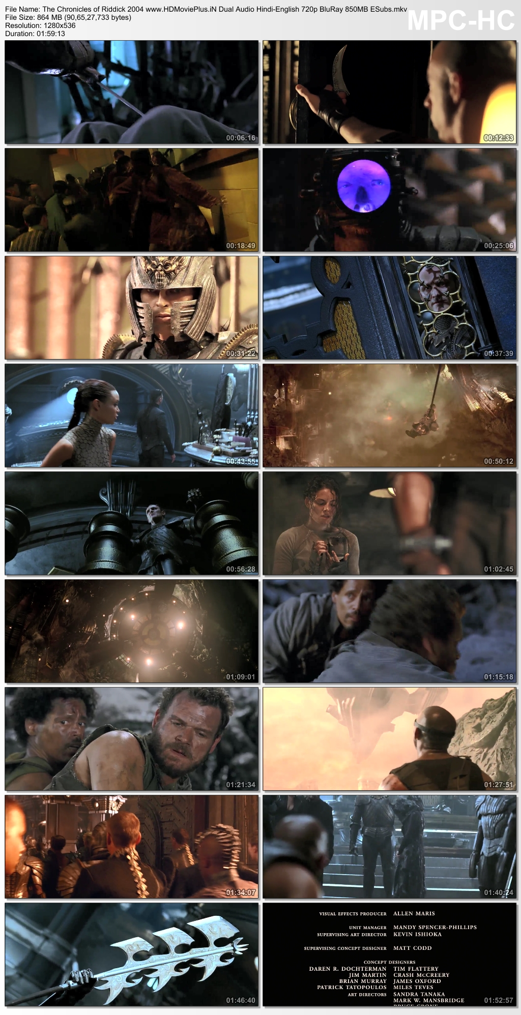 The Chronicles of Riddick 2004 Dual Audio